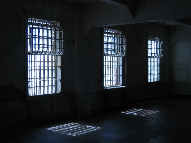Dinner hall at Alcatraz