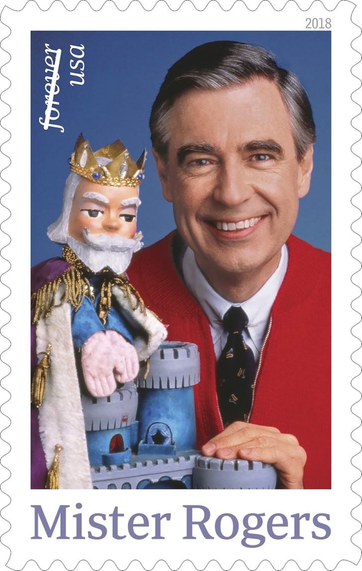 USPS 2018 Mister Rogers stamp