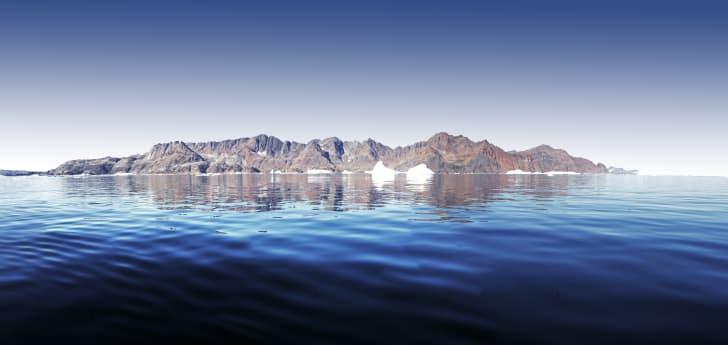 Eastern coast of Greenland.