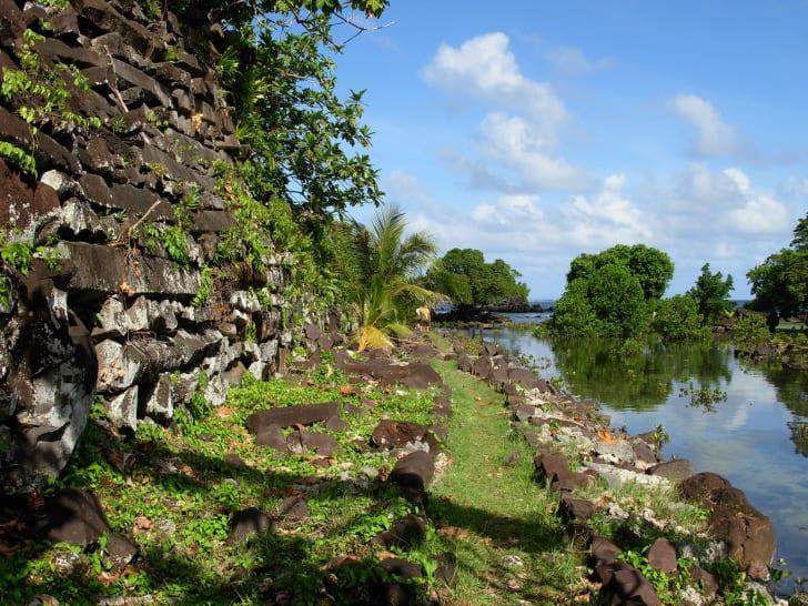 Ruins at Nan Madol.