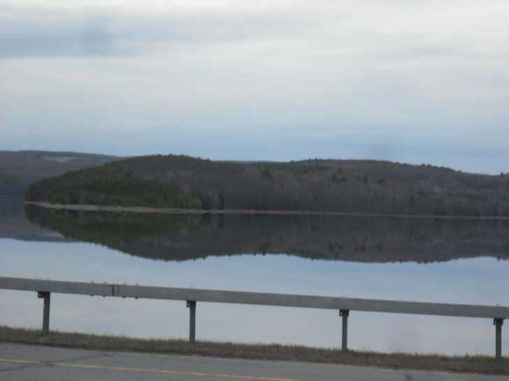 The Neversink Reservoir circa 2012.