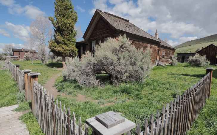 An abandoned home in Bannack, Montana.