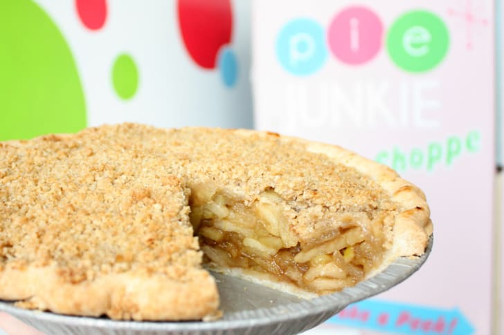 Apple crumble pie from Pie Junkie