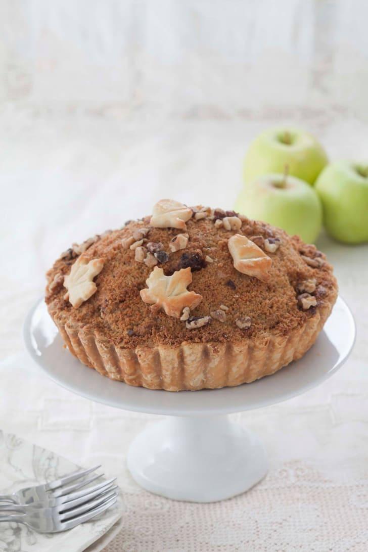 Dutch apple pie at Pastiche Fine Desserts