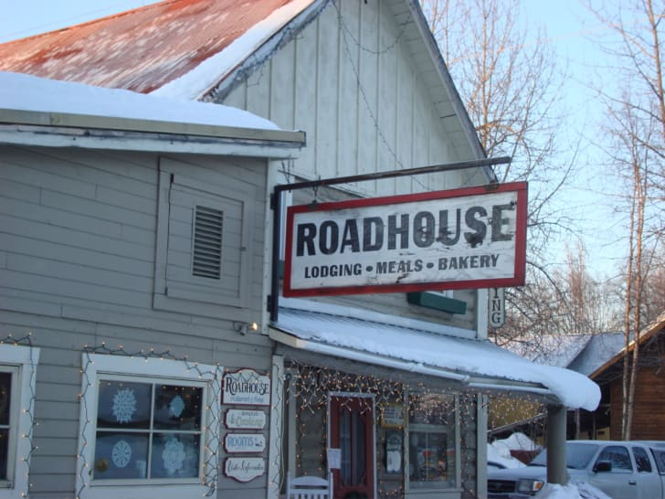 The exterior of the Roadhouse.