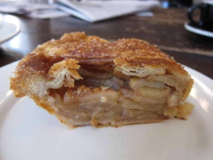 Apple pie from Four & Twenty Blackbirds