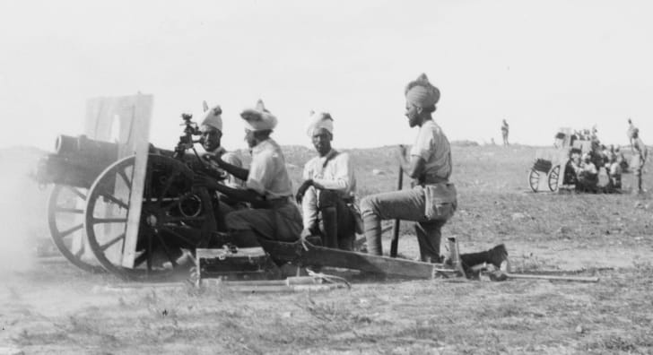 Indian artillery in World War I