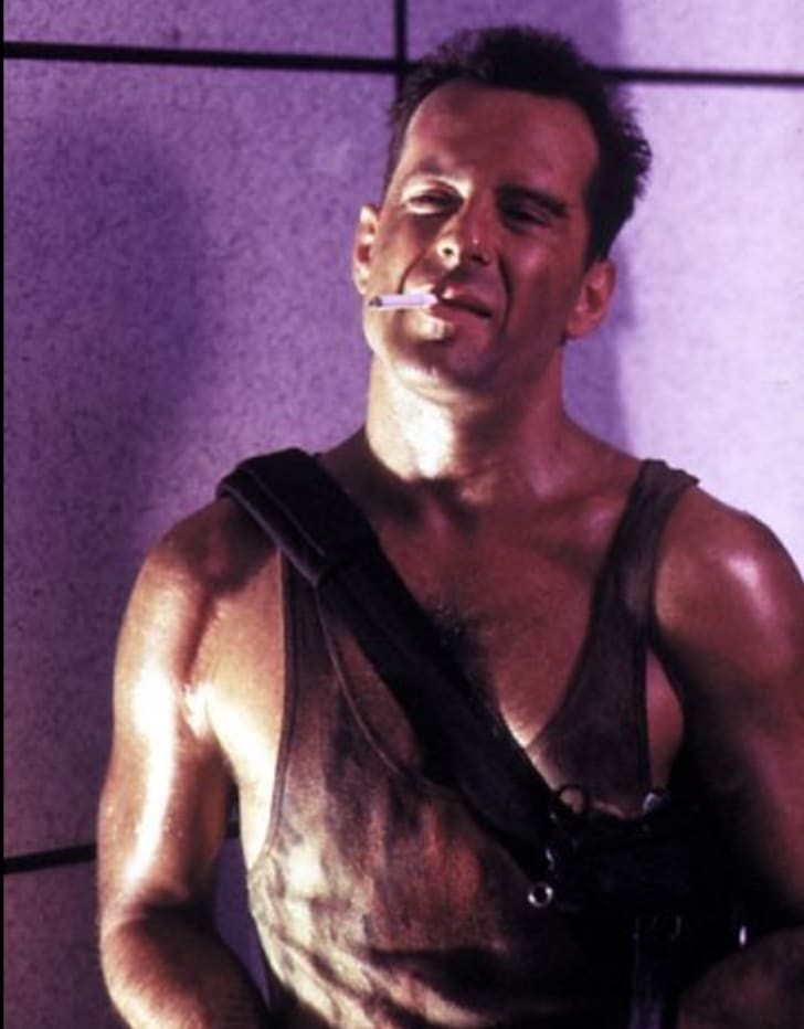 Bruce Willis stars as John McClane in 'Die Hard.'
