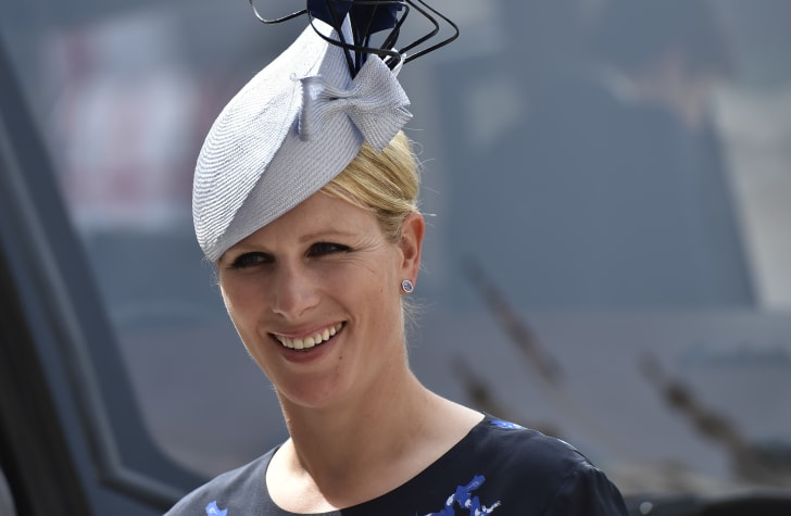 Zara Tindall arrives for a reception at the Guildhall