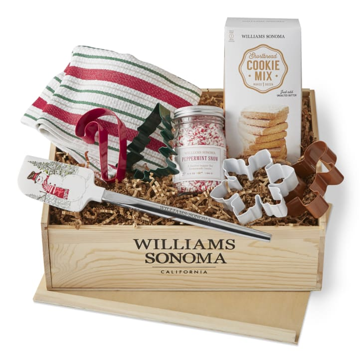 Williams-Sonoma holiday cookie gift crate