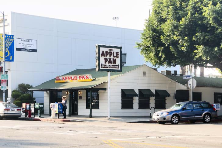 The Apple Pan in Los Angeles, California