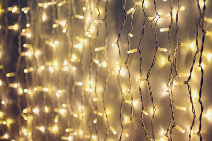 holiday string lights