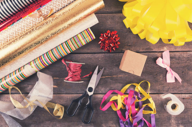 gift wrapping materials