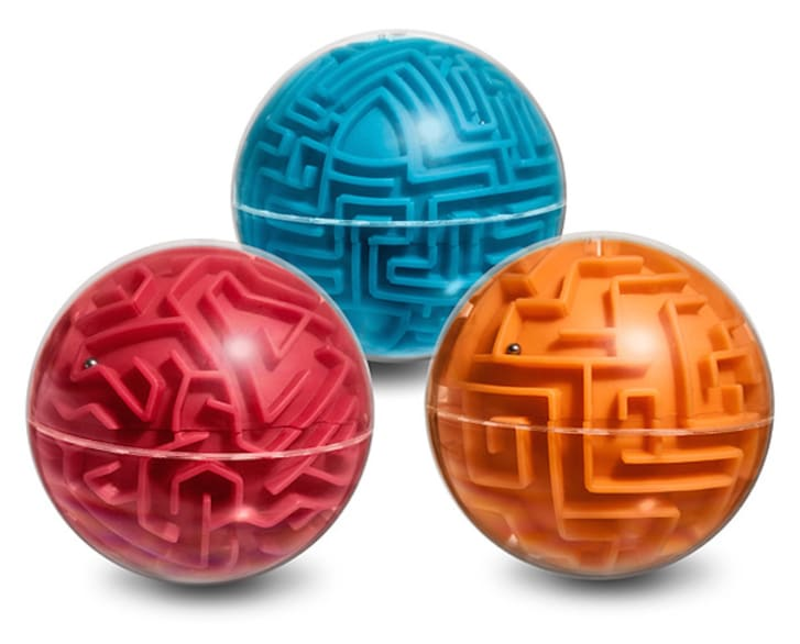Spherical puzzle games.