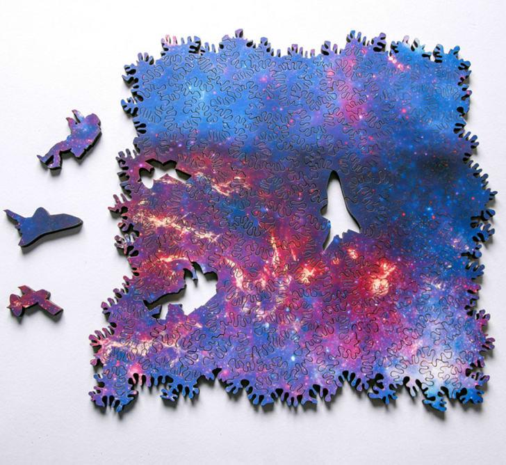 Galaxy jigsaw puzzle.