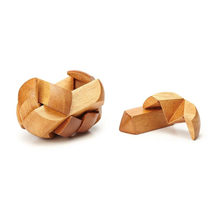 Wooden 3D puzzle.