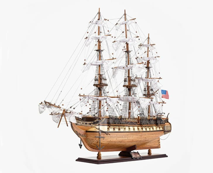 USS Constitution Model Ship, sold by The New York Times Store