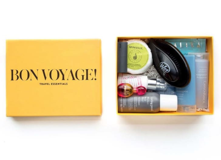 Beauty box from Allure and Conde Nast Traveler