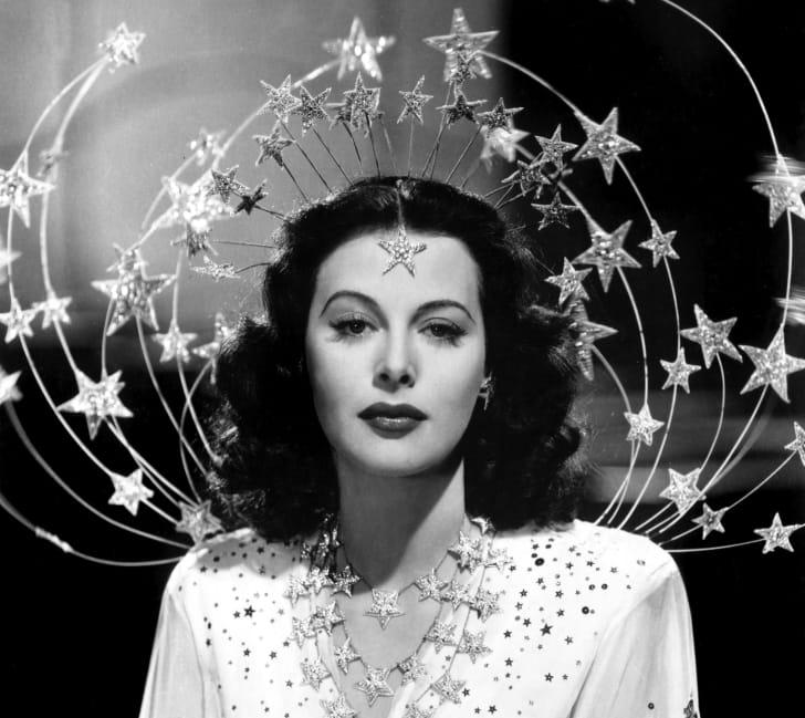 Portrait of artist Hedy Lamarr.