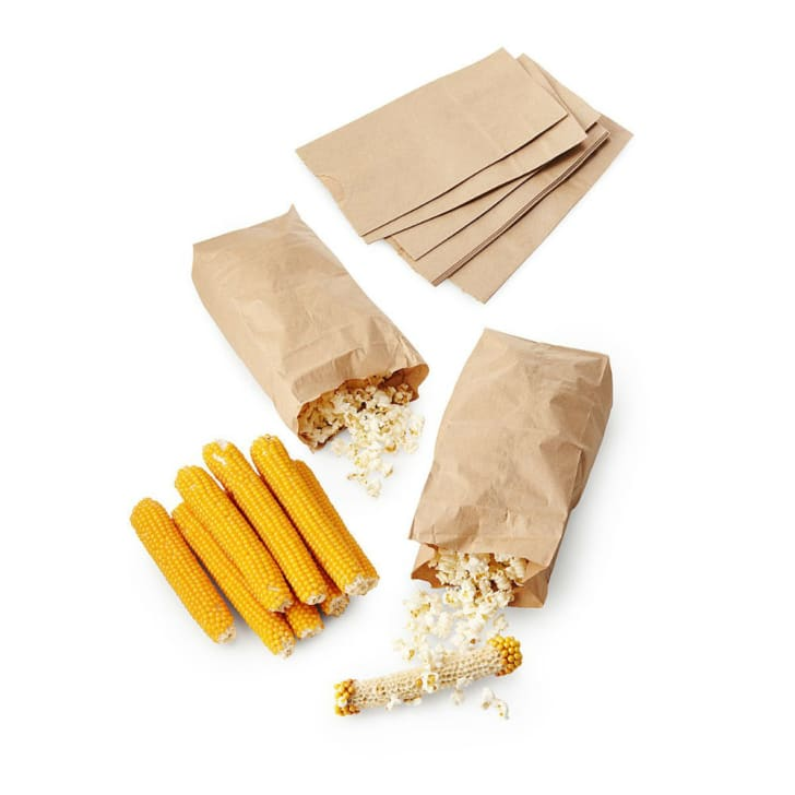 A popcorn novelty treat from Uncommon Goods is pictured