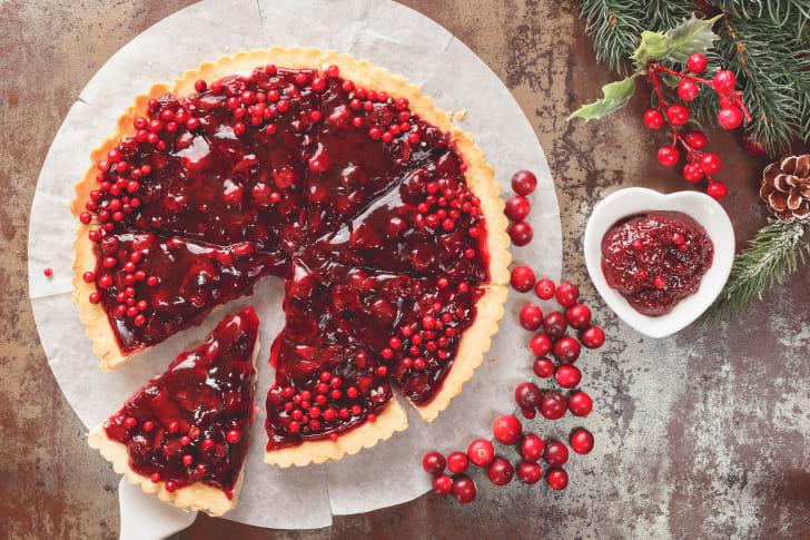 Cranberry pie.