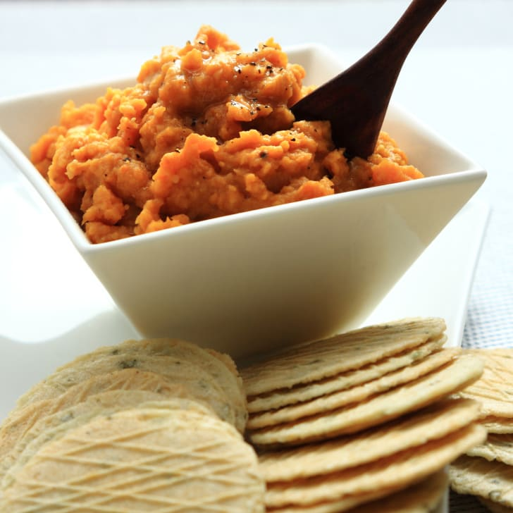Sweet potato dip.