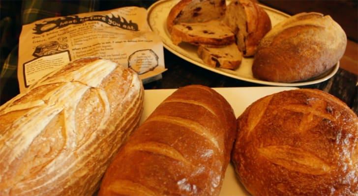 An assortment of Zingerman's bread