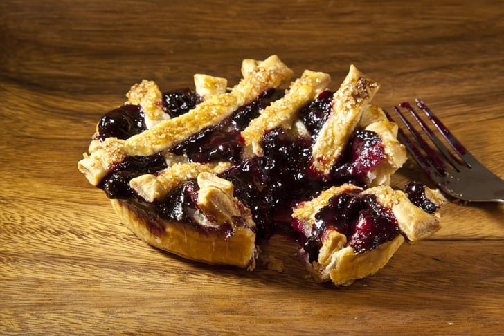 Perfect Pie's huckleberry and blueberry piece