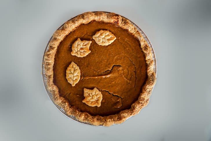 Sweetie Pies pumpkin pie