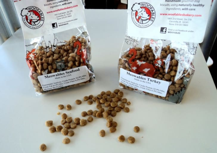 Meowables cat treats by Woofables