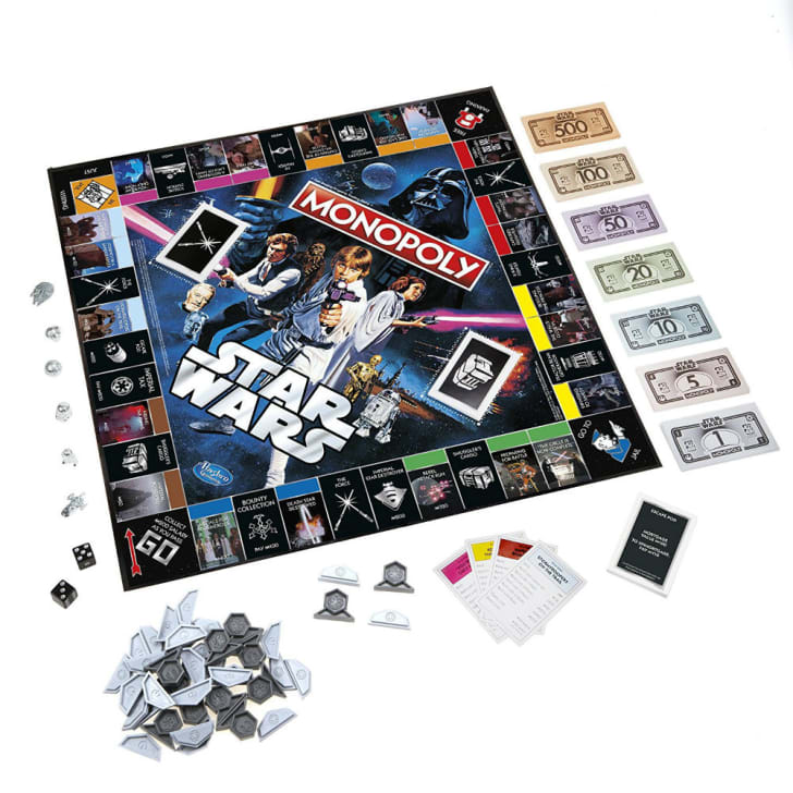 A look at the Stars Wars 40th anniversary edition of Monopoly