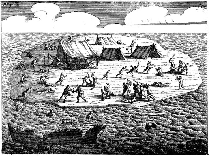 The Batavia massacre