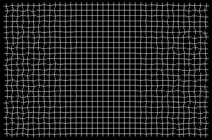 healing grid illusion by Ryota Kanai