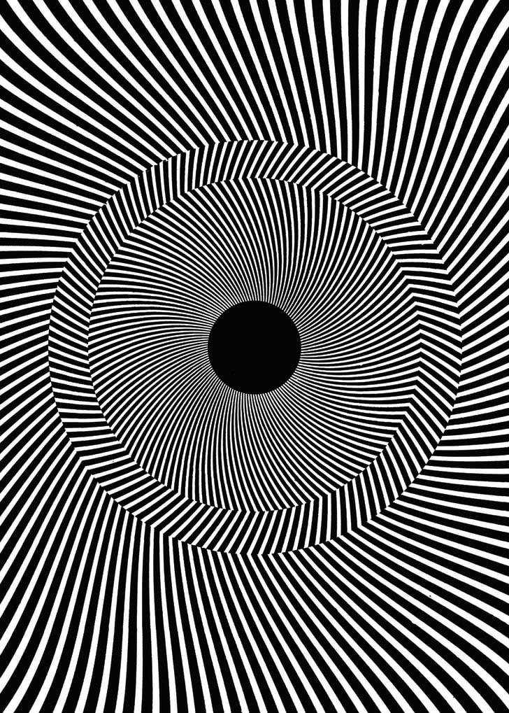 illusion illusions optical lines brain puzzles tilted rotating kai winning award mental simone hamburger gori shape