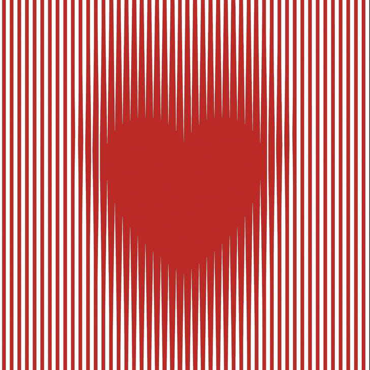 Pulsating Heart illusion by Gianni Sarcone, Courtney Smith, and Marie-Jo Waeber