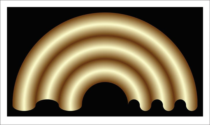 Elusive Arch illusion by Dejan Todorovic