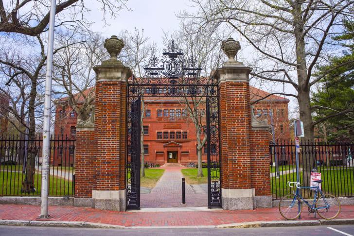 Photo of Harvard University.