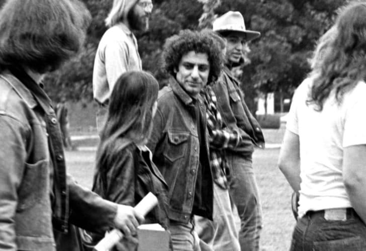 Activist Abbie Hoffman, circa 1969.