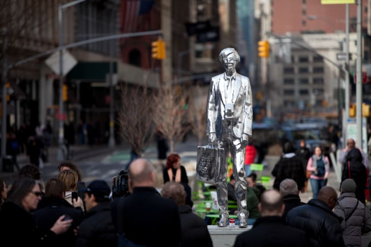 """Rob Pruitt's 2011 artwork """"The Andy Monument"""""""