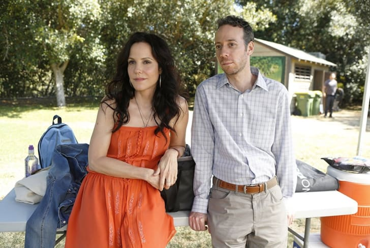 Mary-Louise Parker and Kevin Sussman in 'Weeds'