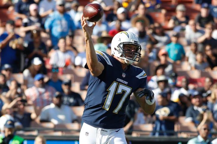 LA Chargers quarterback Phil Rivers