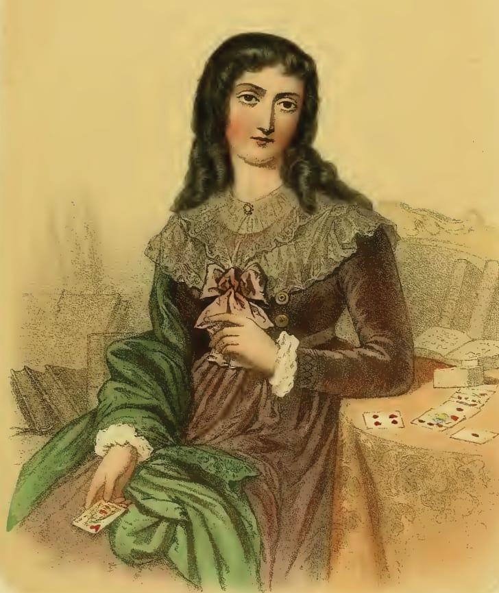 Portrait of Marie-Anne Lenormand.