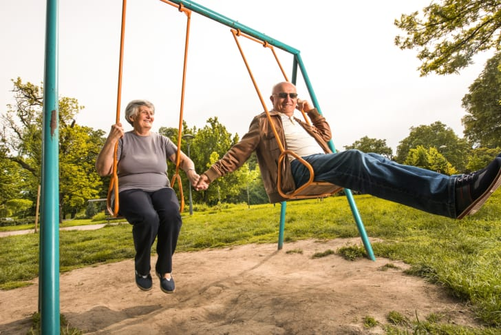Playground for seniors