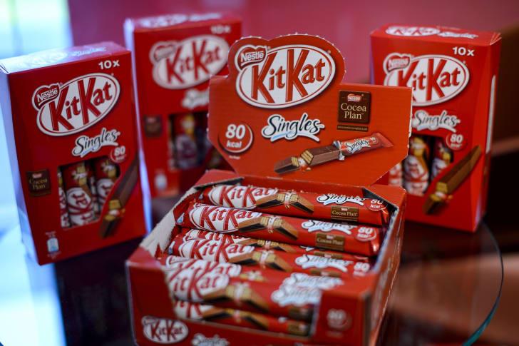 Kit Kat Switzerland Singles