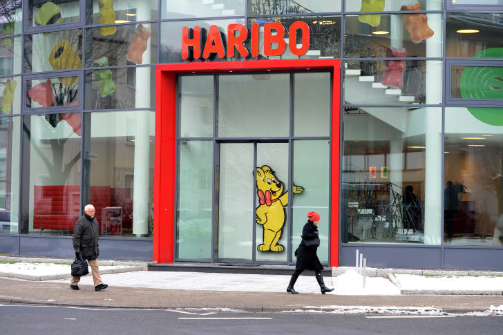 Haribo candy factory