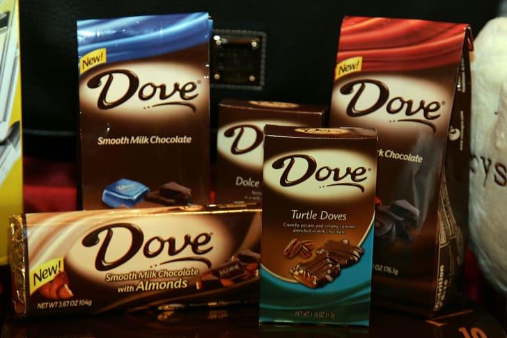 Dove chocolate
