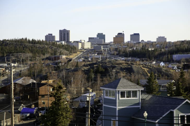 Skyline, Yellowknife, Northwest Territories, Canada