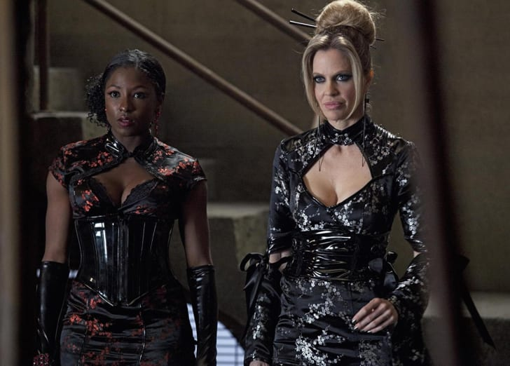 Rutina Wesley and Kristin Bauer van Straten in 'True Blood'