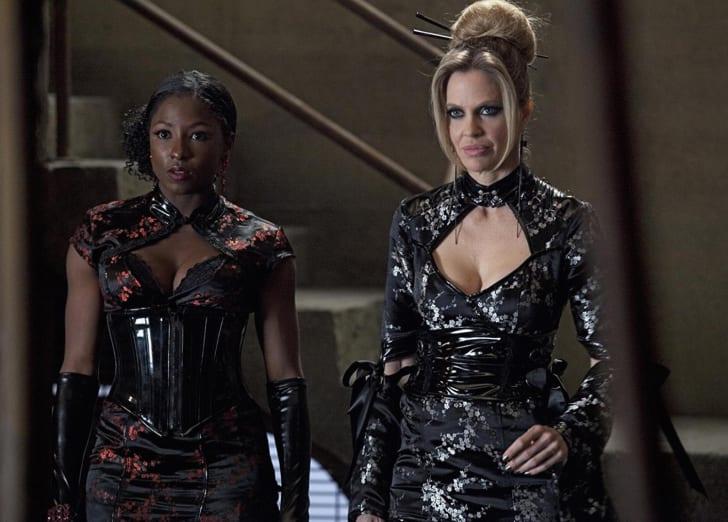 Rutina Wesley and Kristin Bauer van Straten in 'True Blood'