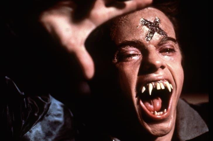 Stephen Geoffreys stars in 'Fright Night' (1985).
